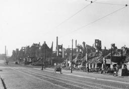 Hamburg 1947 - Ruinen
