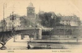 Lübeck - Burgtor