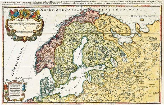 Karte Ostsee.Galerie Kategorie Historische Karten Bild 1692 Ostsee