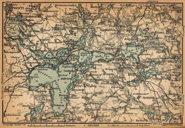 Holsteinische Schweiz Karte.Galerie Kategorie Historische Karten Bild