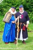Burgherr mit Frau - 1488