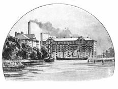 Neumühlen - Baltische Mühle 1895