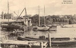 Dietrichsdorf - Grenzstraße am 8.6.1911