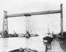 Ellerbek - Kaiserliche Werft Schwebekran