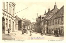 Neumühlen - Schönberger Straße um 1930
