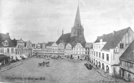 Kiel - Alter Markt 1875