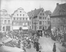 Kiel - Alter Markt 1890