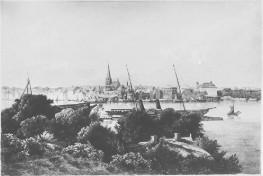 Kiel - Ansicht 1850