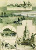 Kiel - Ansichtskarte 1887