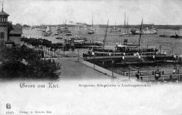 Kiel - Ansichtskarte 1904