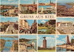 Kiel - Ansichtskarte 1960er