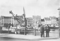 Kiel - Bootshafen 1938 II