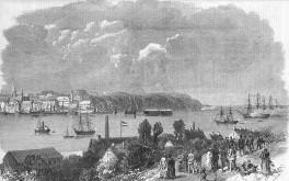 Kiel - Hafen 1868