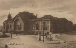 Kiel - Hauptbahnhof 1900