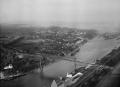 Kiel-Holtenau - Hochbrücke 1944