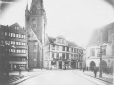 Kiel - Nikolaikirche und Markt
