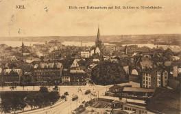 Kiel - Rathausturm Aussicht