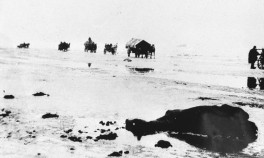 Ostpreußen 1945 - Flüchtlingstreck