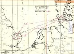 Januar 1944 - Flugplan