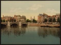 Amsterdam - Blaue Brücke