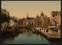 Amsterdam - Fischmarkt und Börse