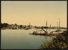 Arnheim - Stadt und Rhein