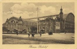 Bremen - Bahnhof 1913