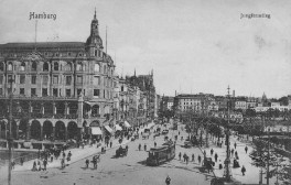 Hamburg - Jungfernstieg 1907