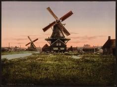 Holland - Windmühlen