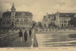Arendsee - Kurhaus und Warmbad