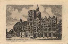 Stralsund - Rathaus 1925