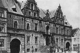 Glückstadt - Rathaus 1895