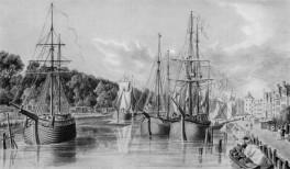 Lübeck - Hafen 1820