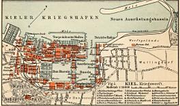 Kiel 1907 - Kriegshafen