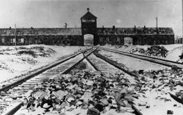 Auschwitz - KZ-Einfahrt