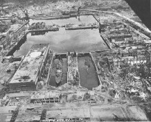 Kiel - Marinehafen 1945