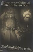 Weihnachtskarte - WW I.