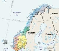 Norwegen - Regionen