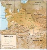 Turkmenistan - Relief