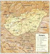Ungarn - Relief 1994