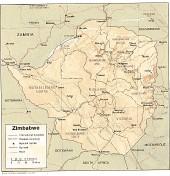 Landkarten U-Z