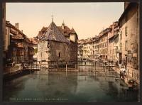 Annecy - Altes Palais und Kanal