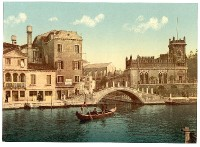 Venedig - Kanalbrücke