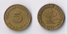 DE - 5 Pfennig