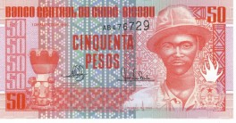 Guinea-Bissau - 50 Pesos