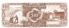 Guyana - 10 Dollars