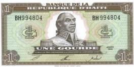 Haiti - 1 Gourde