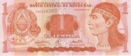 Honduras - 1 Lempira