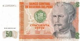 Peru - 50 Intis