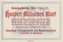 Vollert & Merkel - Gutschein